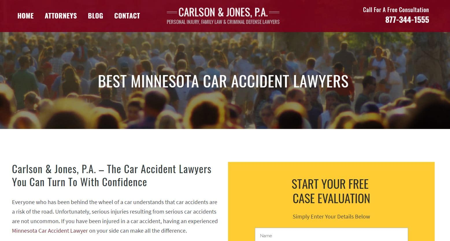 Law Firm Marketing Website Design