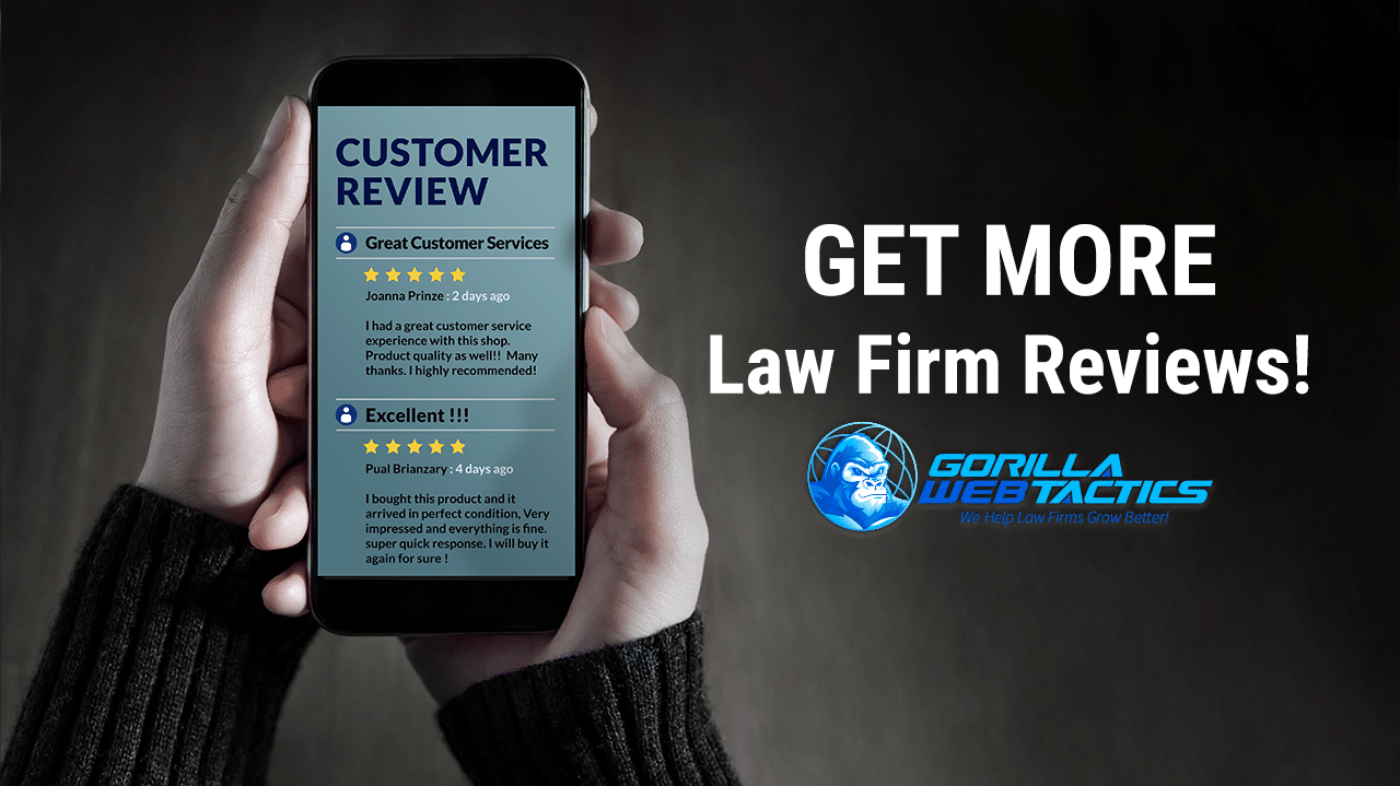 The Secrets To Getting More Law Firm Reviews