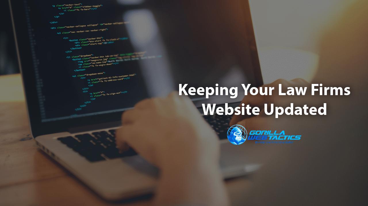 Updating Law Firm Website Design