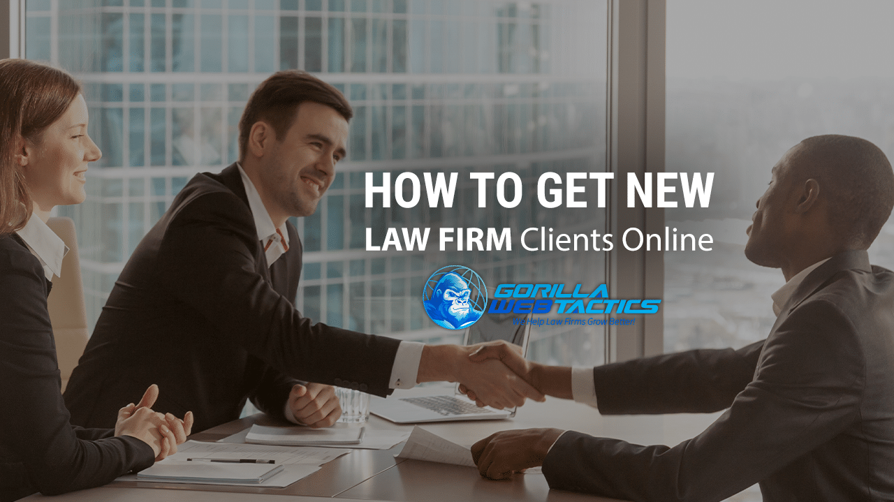 Law Firm Getting New Client From Online Marketing