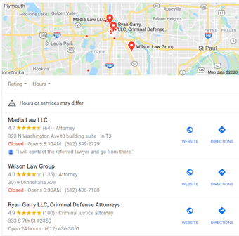 Google Map Snippet