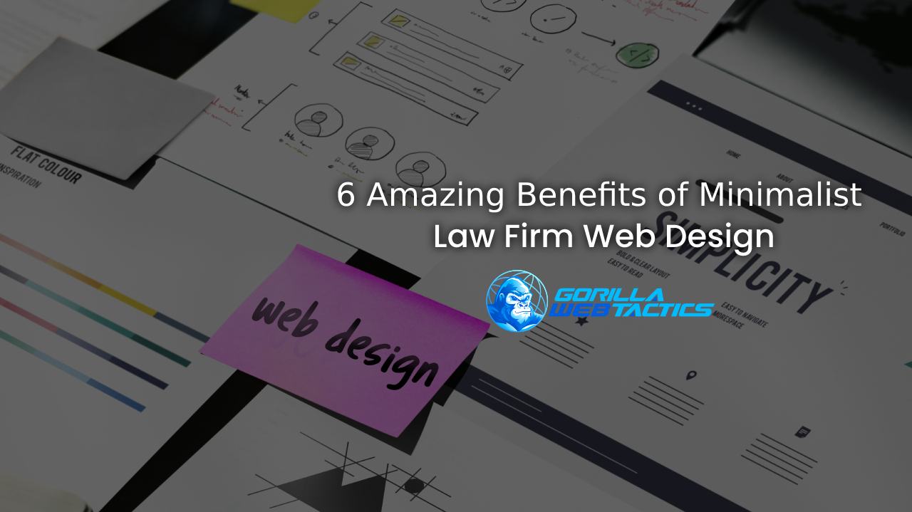 Minimalist Law Firm Web Design