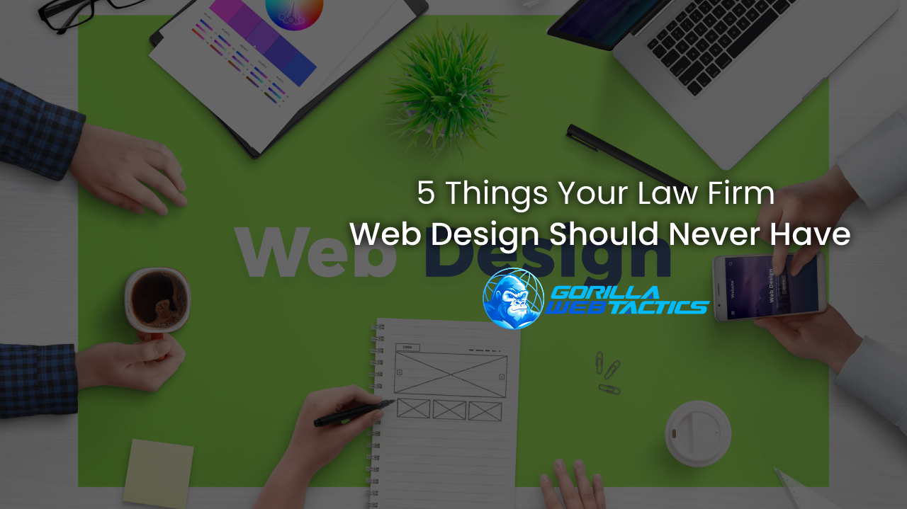 Law Firm Website Design Mistakes You Should Avoid