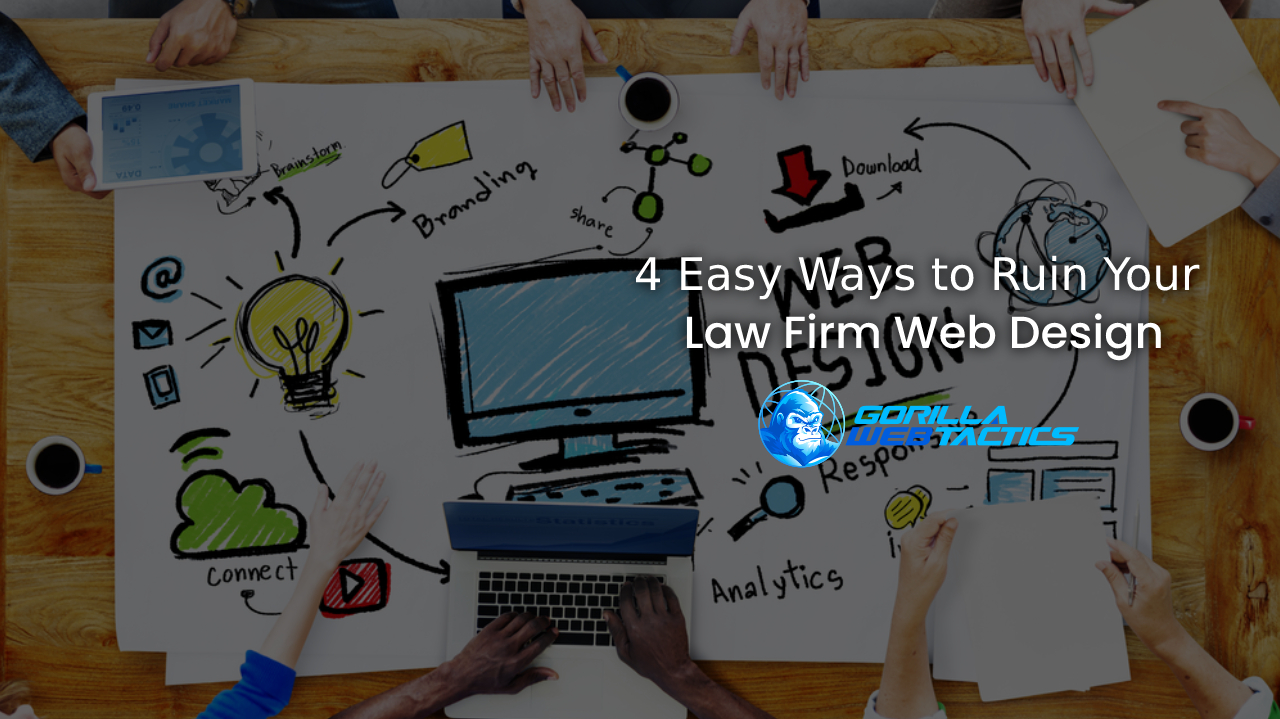Biggest Mistakes With Law Firm Website Design
