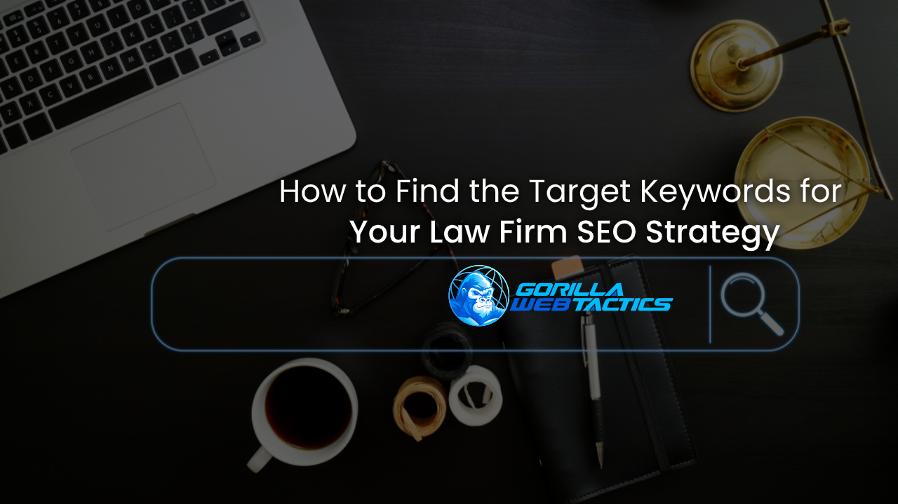 How to Find the Target Keywords for Your Law Firm SEO Strategy