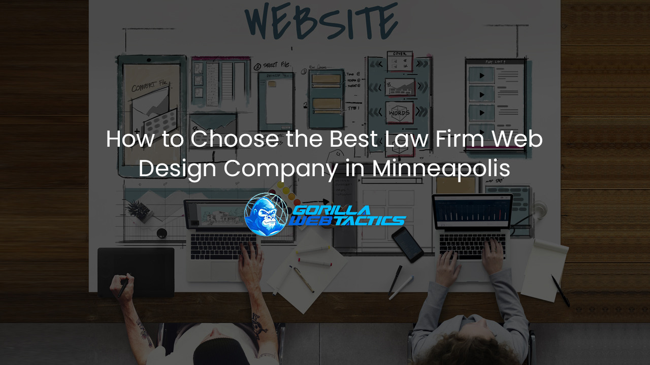 Top Law Firm Website Design Company Minneapolis