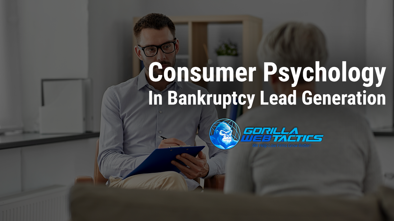 Lead Generation Expert Talking To Debtor About Psychology Of Bankruptcy